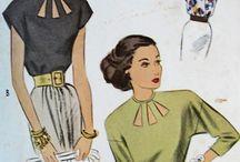 Sewing :: Inspiration : Vintage travel wardrobe