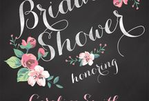 bridal shower / by Abbey Hendrickson