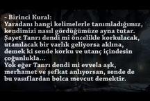 ŞEMS-İ TEBRİZİ'NİN 40 KURALI