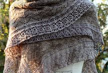Beautiful Shawls / Gorgeous knitted crochet shawls and scarfs