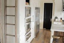 kitchen library ladder