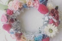 waxflower craft / 砂糖菓子のように繊細な蝋の花