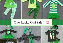 St. Patrick's Day Outfits / One lucky girl sale! 60% off