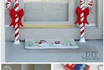 Santa Festival decorations