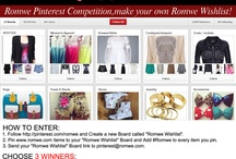 Romwe Wishlist / This Board is all about Romwe fashion and more... follow me if you like the pins / by KBird 97