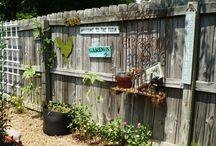 Pimpin' my fence!  / by Amy Walker Carl