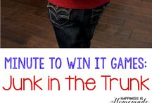 Kids minute to win it party games