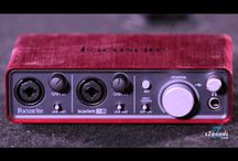 Beginner's Gear Guide: Home Studio / Follow our guide below to find all the basic building blocks of the home studio: an audio interface to connect your gear to your computer, studio monitor speakers for critical listening, microphones for recording vocals and acoustic instruments, digital audio workstation software, and cables to connect it all.