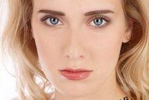 брови/макияж/лицо