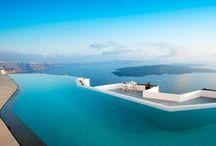SANTORINI - GREECE  / SANTORINI ISLAND - GREECE