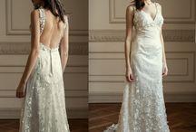 Vestidos de novia Sirena & Trompeta · Mermaid & Trumpet Wedding Dresses / Vestidos de novia ajustados al cuerpo que marcan y potencias las curvas.