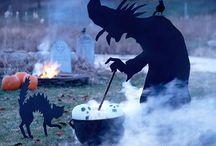 Fall + Halloween Decor