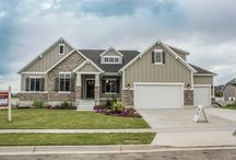 Craftsman Encore Plan / This adorable craftsman style home designed and built by Symphony Homes. Come on in and check out our Design Center located at 526 North 400 West North Salt Lake, Utah
