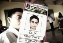 """ID Card HS / I was in my ID card is with CHS / by Naser John """"Jhon"""" M. Salih"""