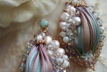 haft koralikowy shibori