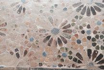 Beautiful Antique tiles found through Andalusia / Pics of cool old tiles found through Granada, Medina Sidonia, Seville, Cadiz