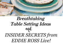 DINNING ROOM--TABLE ORGANIZATION
