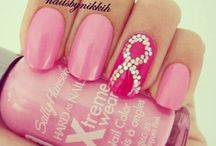 ribbon nail art