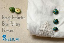 Neerja Blue Pottery Buttons
