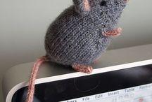 gebreide muizen
