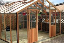 Timber Greenhouses / See our range of beautiful Cedar greenhouses, hand crafted in the UK