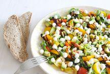 Recipe Diary Video: Salad Dressing & Salad Recipes