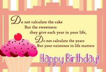 Cute Birthday Wishes / Cute birthday wishes for family, friends, boyfriends, girlfriends, sweethearts, husbands and wives. These are the sweetest and the cutest birthday wishes.