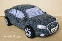 amigurumi cars