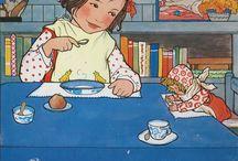 Dinette - Toy tea set - Puppengeschirr