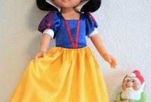 Paola Reina / Сшитые мной модели одежды для кукол Paola Reina 32см и выкройки к ним