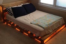 κρεβάτι παλέτες