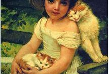 Kissat ja ihmisiä