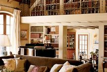 Home Décor. / Book cases, home libraries, furniture, style.