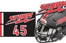 Yuma Storm / Custom Football Helmet Decals, Car Window Decals, Bag Tags & Team Merchandise