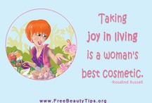 Girl Friday Beauty Quotes / A good quote is always a great inspirational start for the day.  I love to share great quotes I find to give someone else a smile too.