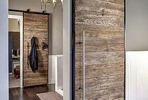 Home decor / Wooden door