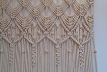 Macrame Curtains & Wall Hangings