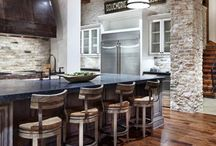 inspire: Rustic Chic / Rustic + traditional home interiors.