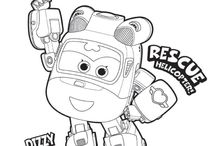 super wings coloring pages 출동 슈퍼윙스