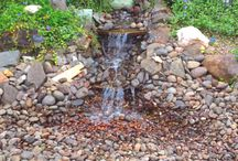 backyard water feature / by Diane Smid