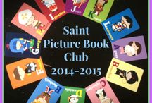 Saints for Catholic Kids / Books, activities, printables and other resources for Catholic kids to learn about saints.    Email jen @ happylittlehomemaker . com to request to be added to this collaborative board. / by Happy Little Homemaker