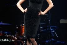 Carine Roitfeld's all black fashion show in Cannes