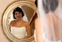 Bridal Hairstyle -Short Hair / Bridal hairstyle for short hair.