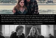 love of ron and hermioni