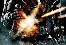 X-men; Terminator; Matrix