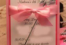 Invitasjoner mm