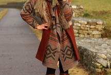 wear boho atumn winter