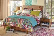 Home: Bed & Bath / Find affordable bedroom linens, luxurious bed sets, duvets, pillows and more. From thick Turkish cotton towels and bathroom sets, to colorful bath mats and bath accessories, World Market has the design and colors you need to create your own ambiance.  / by Cost Plus World Market