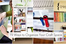 craft room / by Linda Hageman
