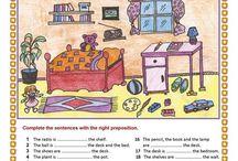 AJ prepositions of place